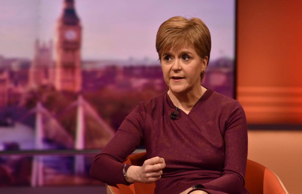 Перший міністр Шотландії Нікола Стерджен /REUTERS