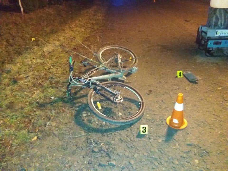 23-річний велосипедист загинув через п'яного водія/ фото: поліція Івано-Франківської області