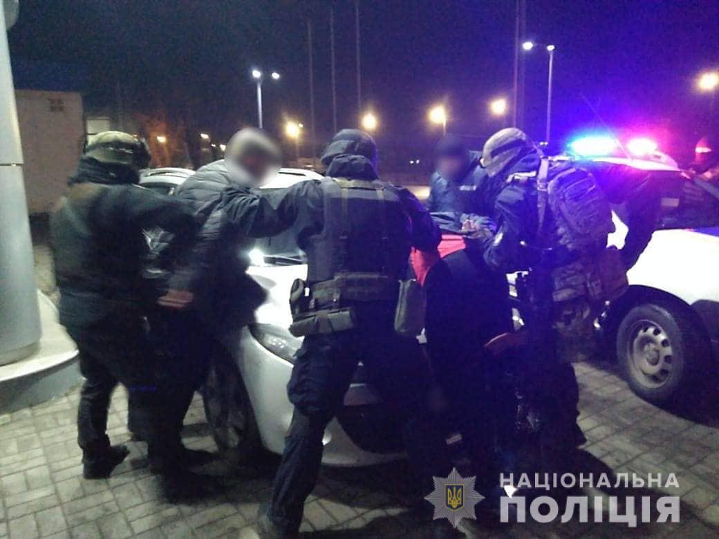 В Черкассах полицейские задержали группу вымогателей / фото ch.npu.gov.ua