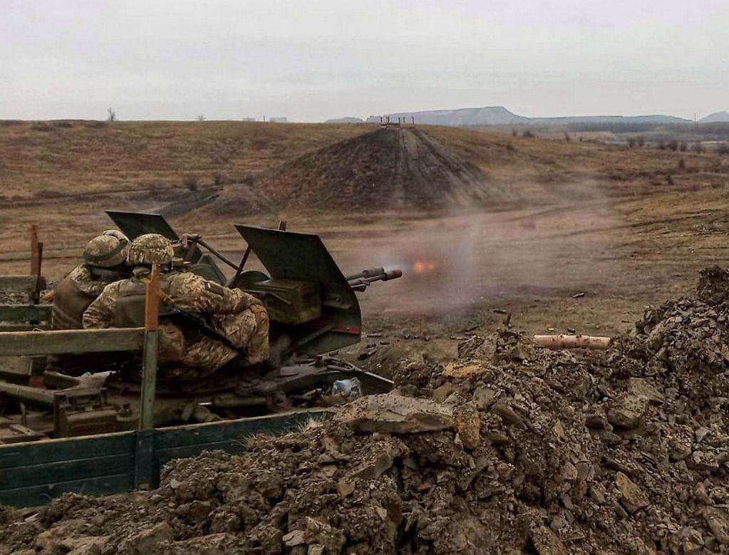 Украинские зенитчики отработали уничтожение наземных и воздушных целей / фото facebook.com/pressjfo.news