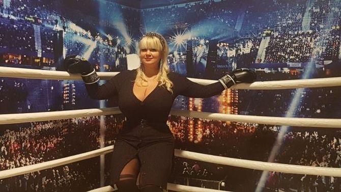 Мила Кузнецова хочет дебютировать на ринге весной / фото: klitschko-brothers.com