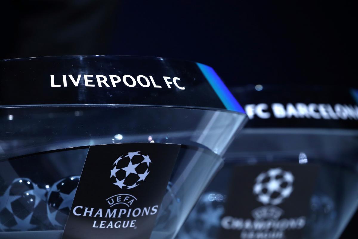 Жеребьевка Лиги чемпионов / REUTERS