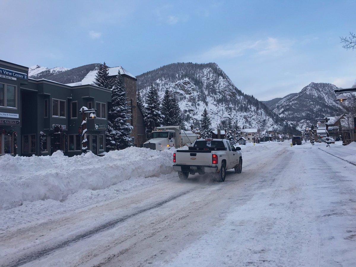 Колорадо завалило снегом / twitter.com/Matt_Kroschel