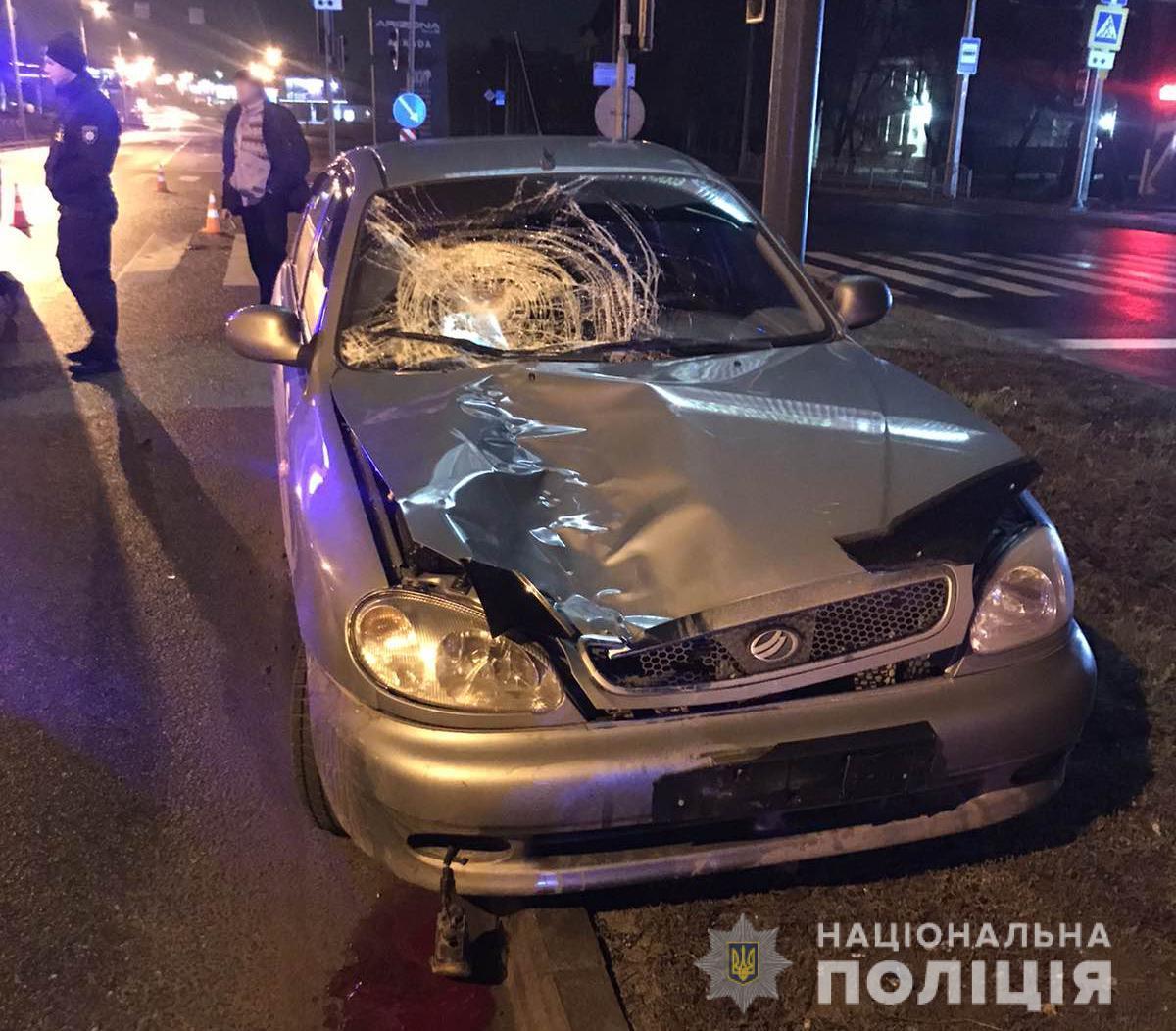 За рулем Daewoo был 55-летний мужчина / фото Нацполиции Харьковщины