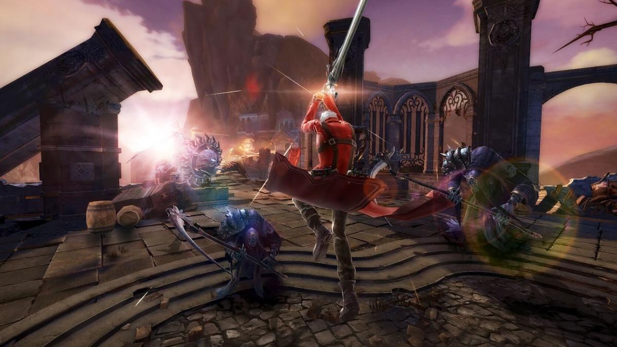 Devil May Cry: Pinnacle of Combat выйдет в 2020 году / скриншот из трейлера