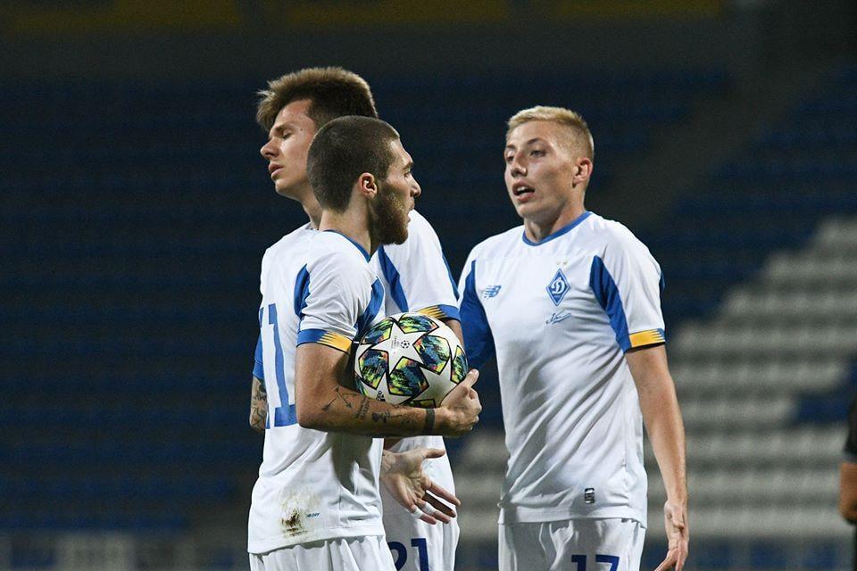 Игроки Динамо U-19 / фото: ФК Динамо Киев