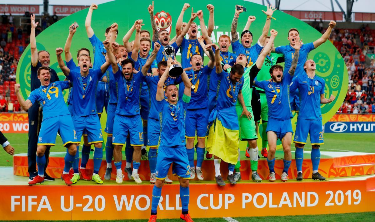 Сборная Украины U-20 / REUTERS