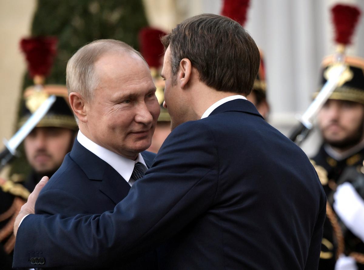 Президент Франции подтвердил приверженность своей страны к единству и суверенитету Украины / фото REUTERS