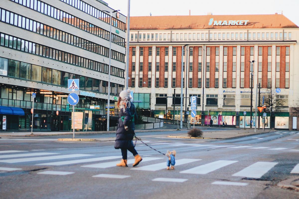 В Стокгольме с собакой очень комфортно / Фото Елена Браун