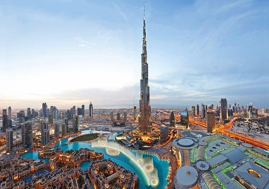 В Дубае заработал танцующий фонтан \ tripadvisor
