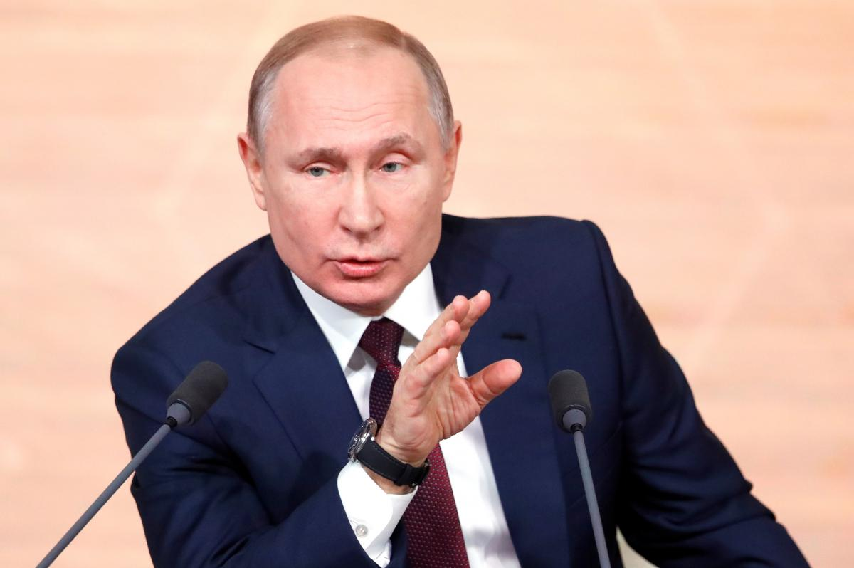 Putin has offered his support to Italy / REUTERS