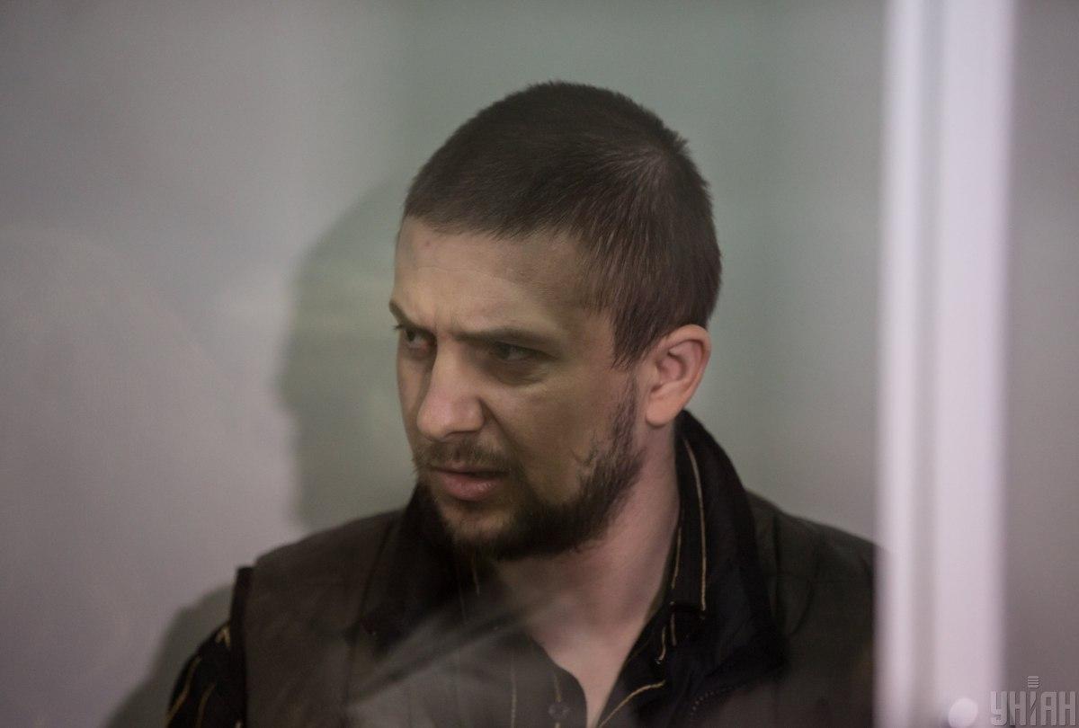 Олександр Маринченко на суді в Києві / Фото УНІАН