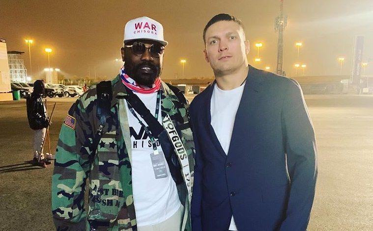 Александр Усик и Дерек Чисора встретятсяна ринге / фото: twitter.com/derekwarchisora