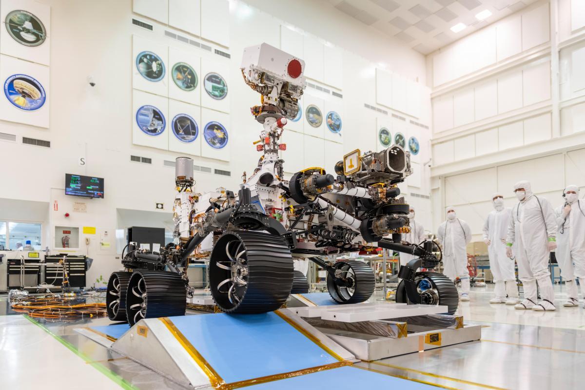 Mars-2020 планируют запускать в космос в июле-августе 2020 года / фото jpl.nasa.gov