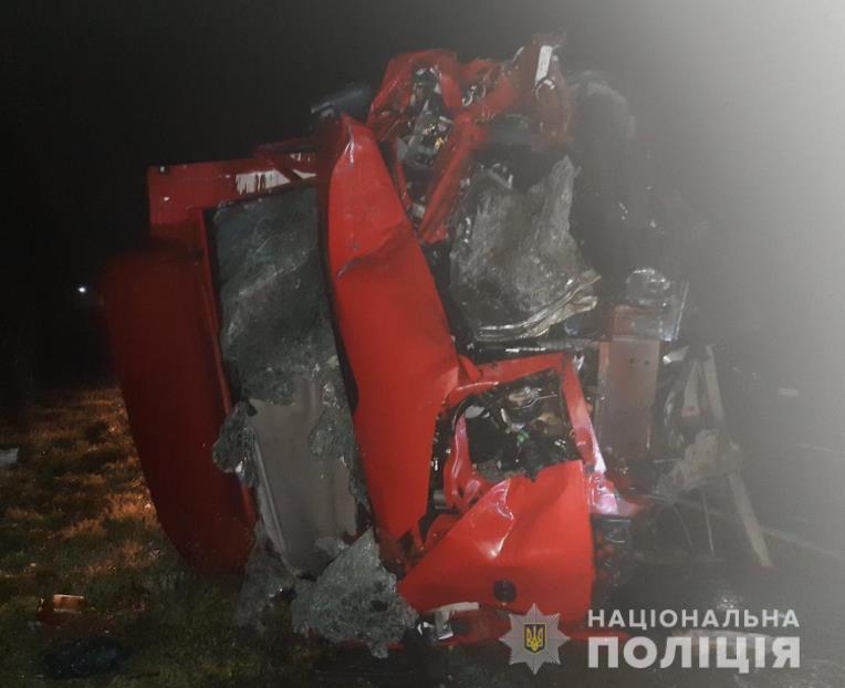 Полиция открыла уголовное производство, водителя микроавтобуса госпитализированы / Фото: Нацполіція