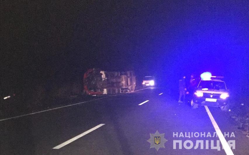 В результате аварии погибло 2 человека / Фото: Нацполиция