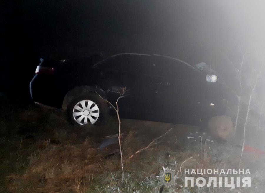Водитель легкового авто погиб на месте / Фото: Нацполіція