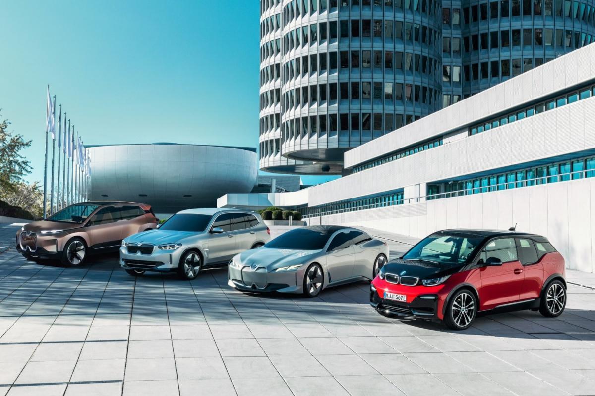Производство электромобилей BMW iX3 для мирового рынказапустят в 2020 году в Китае / фото BMW