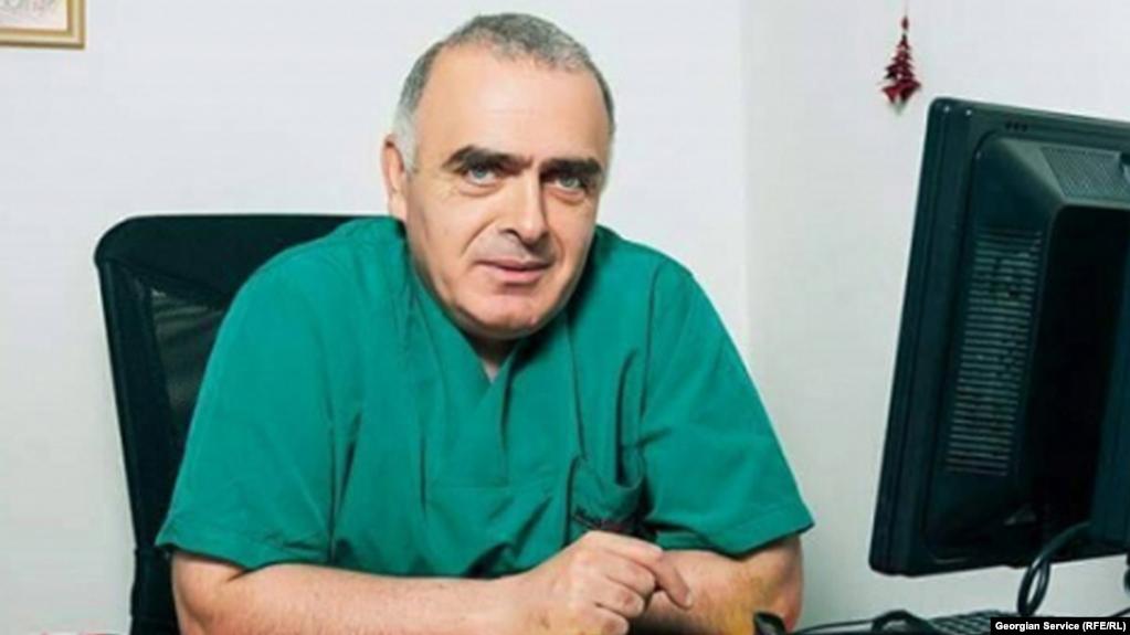 Важа Гаприндашвили – грузинский врач, арестованный в оккупированном Цхинвальском регионе / фото ekhokavkaza.com