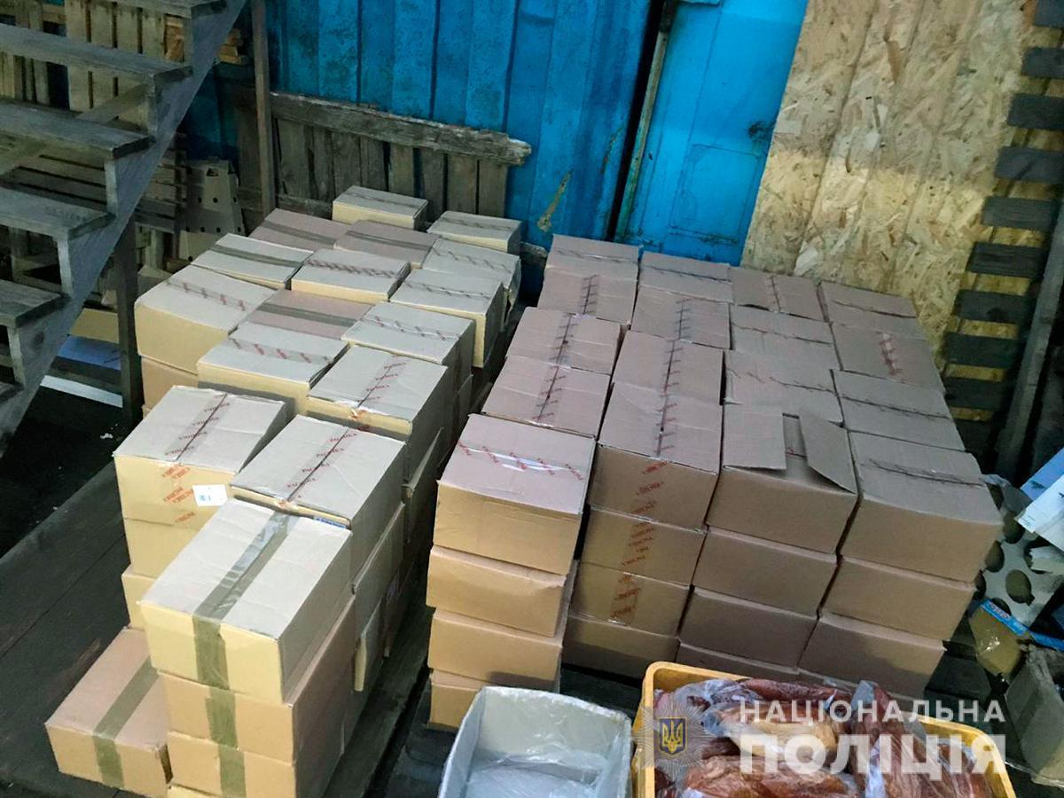 Среднемесячный оборот продукции составлял примерно 8 миллионов гривен / фото ГУНП в Черновицкой области
