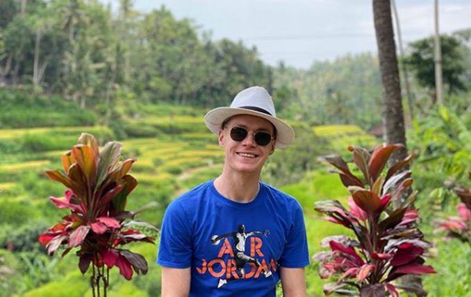 Виктор Цыганков на Бали / фото: instagram.com/viktortsygankov