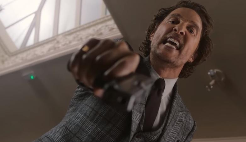 Метью Макконахі зіграв наркоторговця у Гая Річі / скріншот - Youtube, STX Entertainment