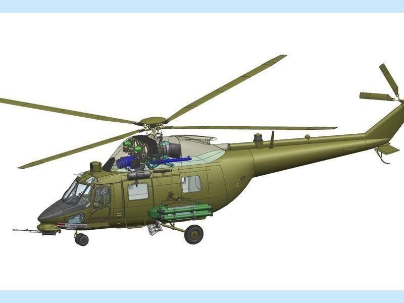 Новый вертолет получит новый двигатель и бортовое оборудование / wing.com.ua