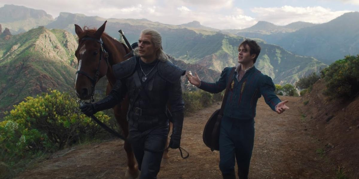 Портал пишет, что Netflix проводит кастинг на роль бывшей возлюбленной Лютика - графини Де Сталь / скриншот из трейлера