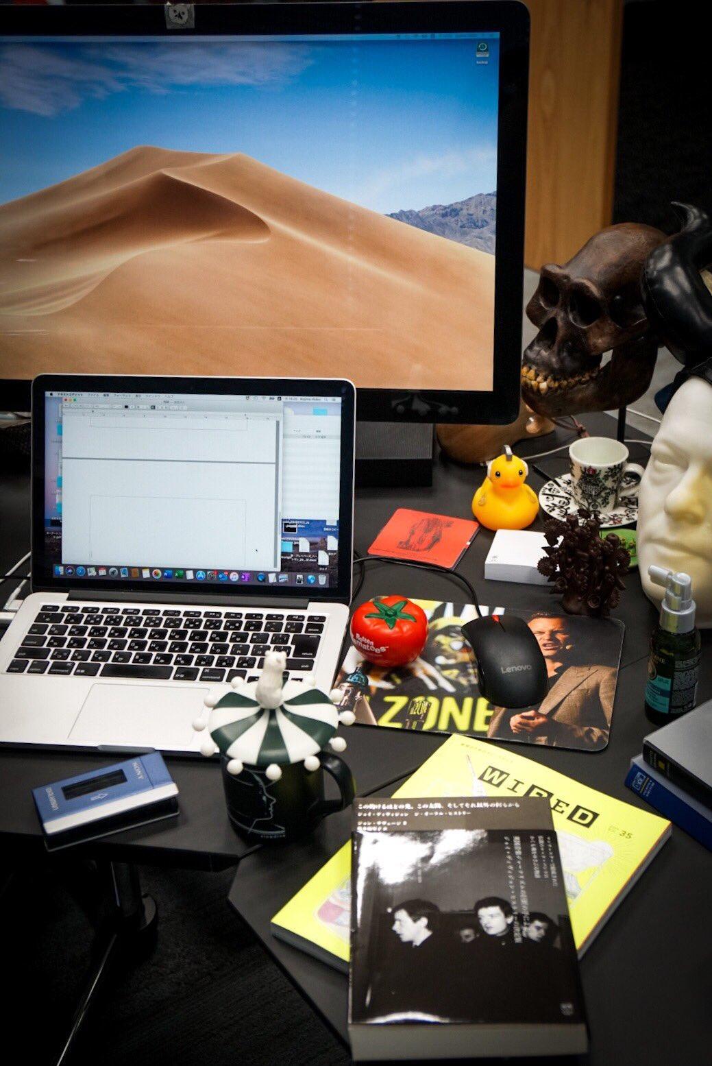 Рабочий стол Кодзимы / twitter.com