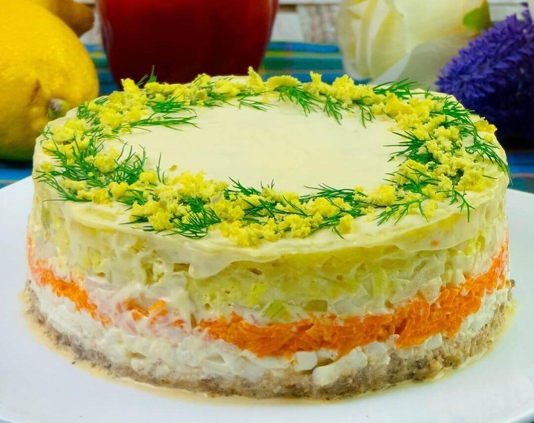 Как приготовить салат Мимоза / фото modda.ru