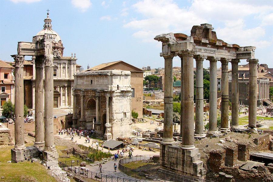 Римский форум / фото: путеводитель по Италии