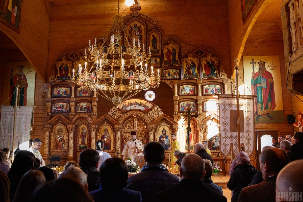 В ПЦУ рассказали, как пройдут богослужения / фото УНИАН