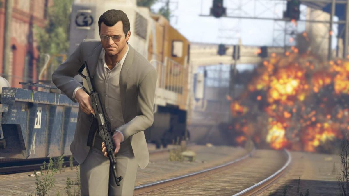Grand Theft Auto V выйдет в 2021 году на консоли нового поколения / скриншот