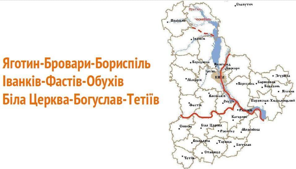 Туристичні райони Київщини / Фото презентація CFC Big Ideas