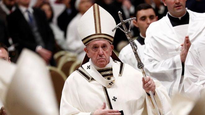 Папа римський закликав разом помолитися / REUTERS