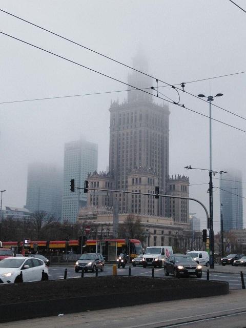 Дворец культуры и науки в Варшаве / фото: Ольга Броскова