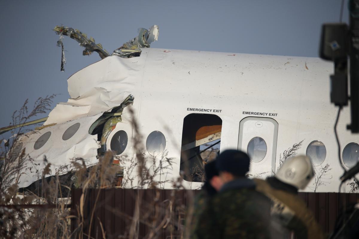 Авиакатастрофа в Казахстане \ REUTERS