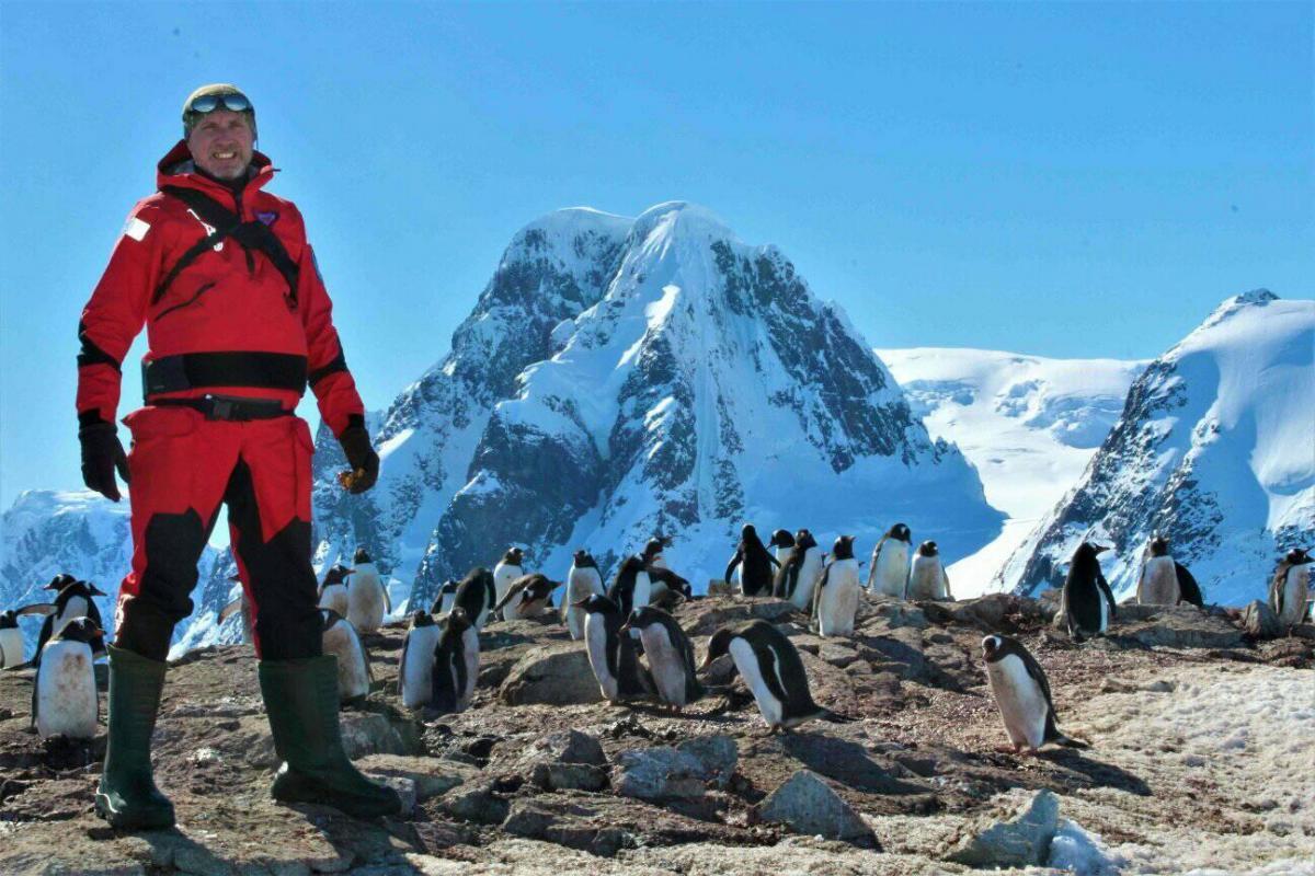 Спеціальними фотокамерами ми стежимо за поведінкою, успішністю розмноження субантарктичного пінгвіна / фото facebook.com/Ігор Дикий