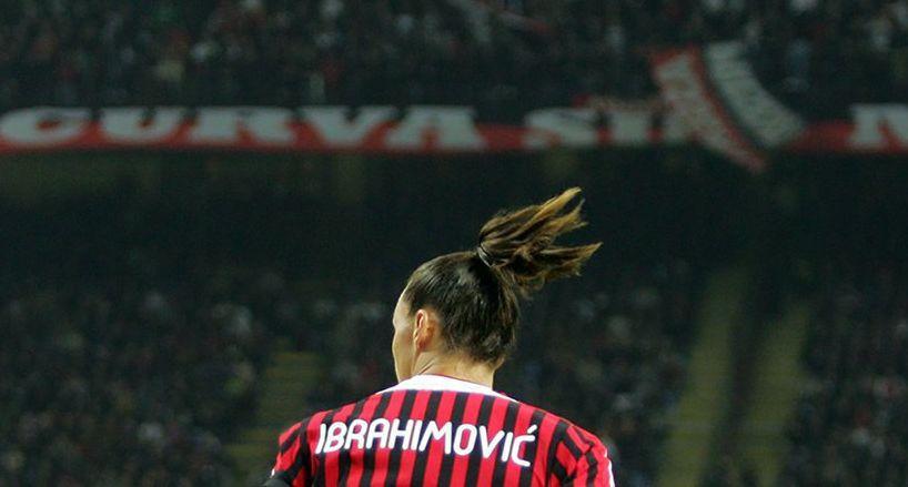 Златан Ибрагимович ранее уже выступал за Милан / фото: twitter.com/acmilan