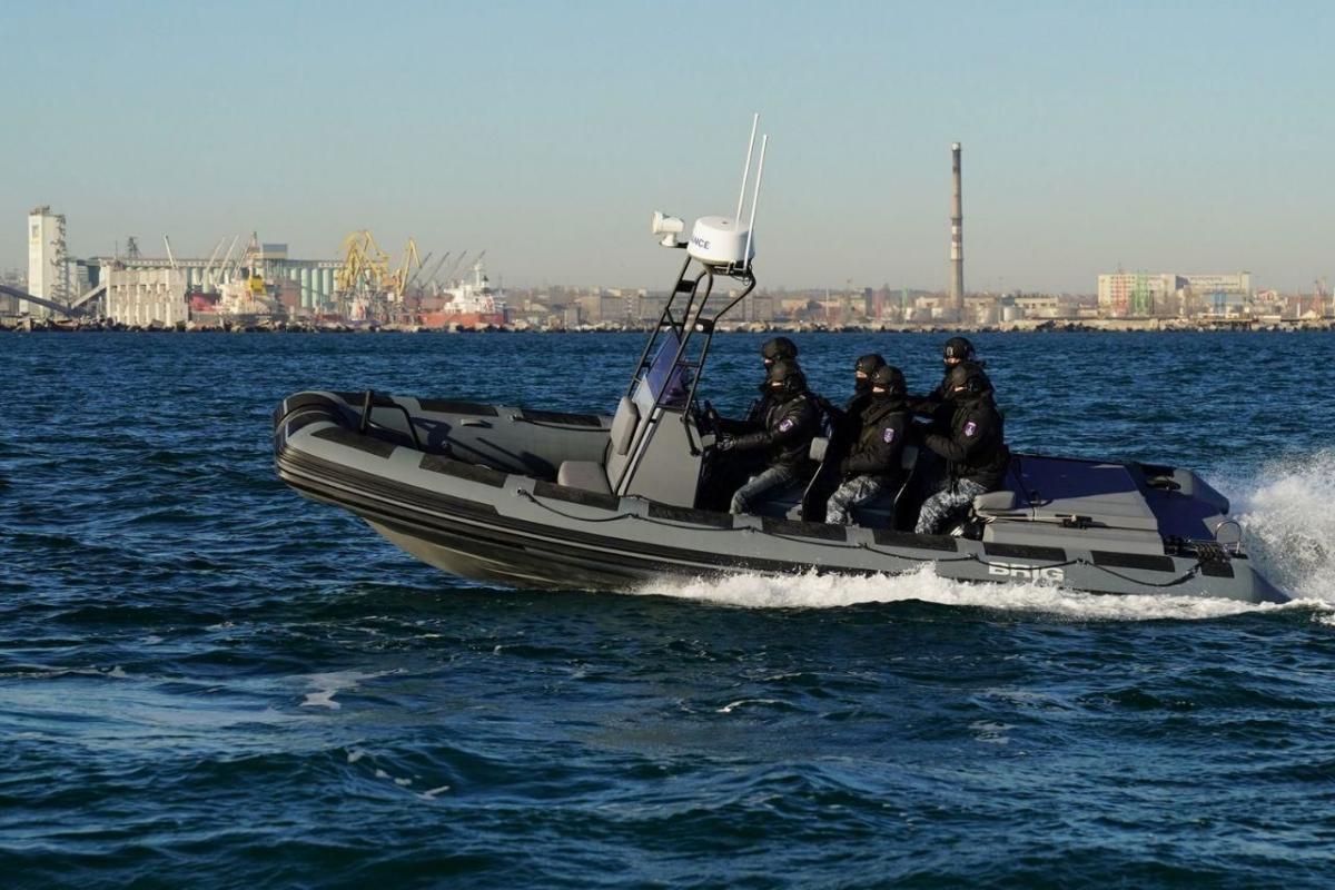 Украинская морская охрана получила новые отечественные катера / фото пресс-служба МВД