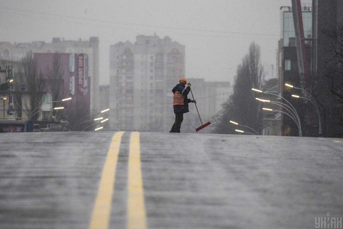 Шулявский мост опять на ремонте/ Фото УНИАН
