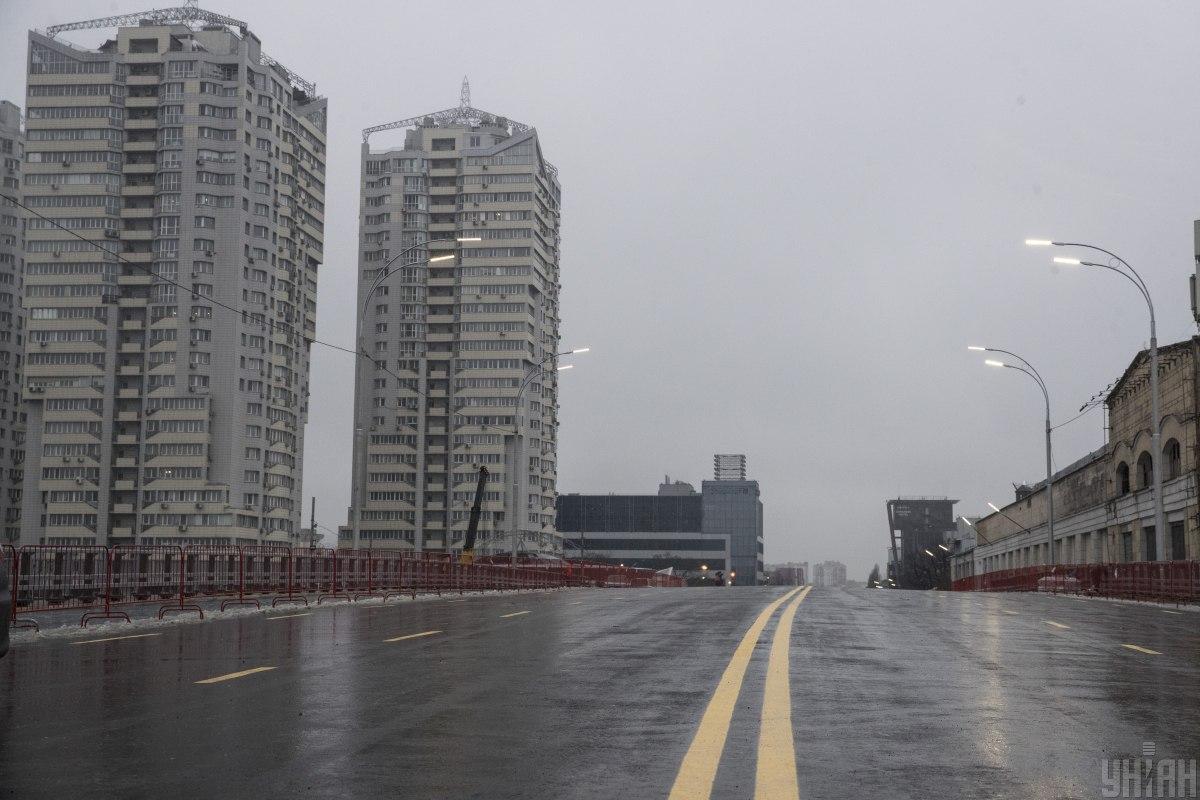 В Киеве частично ограничат движение по Шулявскому мосту/ фото УНИАН