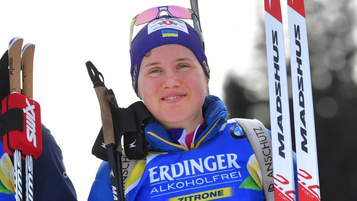Меркушина стала шестой / фото: biathlon.com.ua
