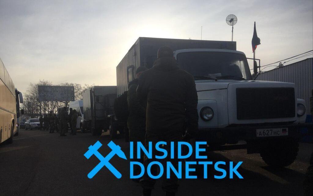 Обмен пленными - первые фото / Инсайд Донецк