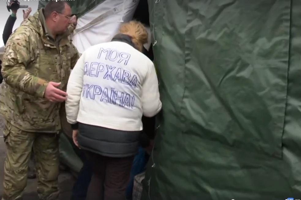Часть украинцевуже освобожденаиз плена / скриншот