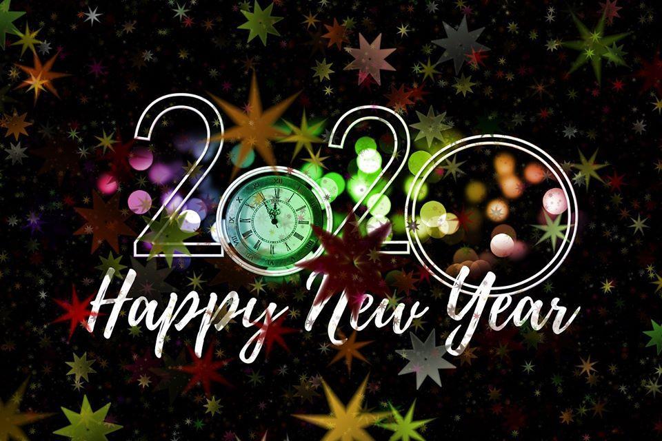 Открытки с Новым годом 2020 / techbeasts.com