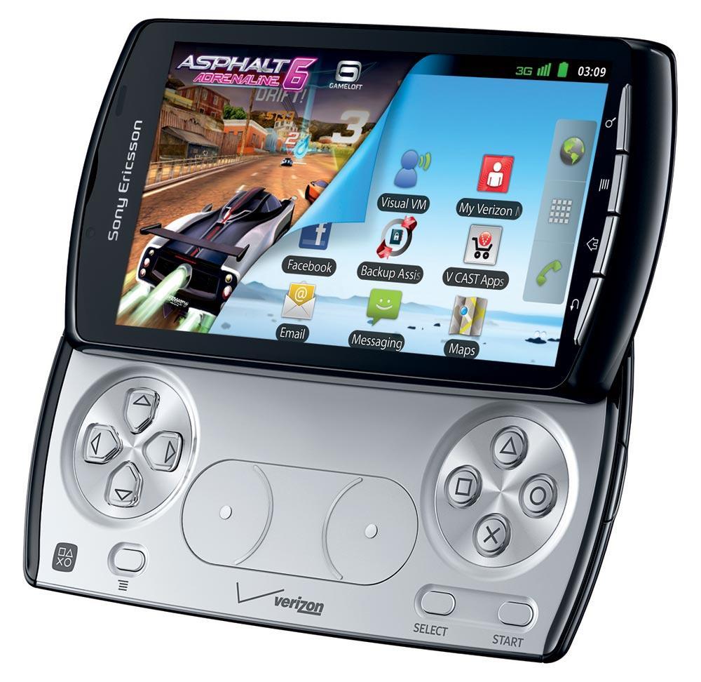 Xperia Play - настоящий игровой смартфон / phonesdata.com