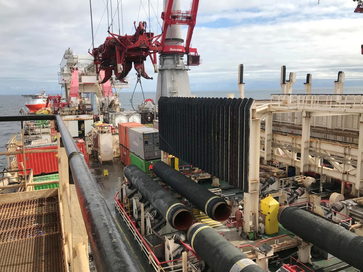 Компанії припинили свою участь у будівництві газопроводу / Ілюстрація REUTERS