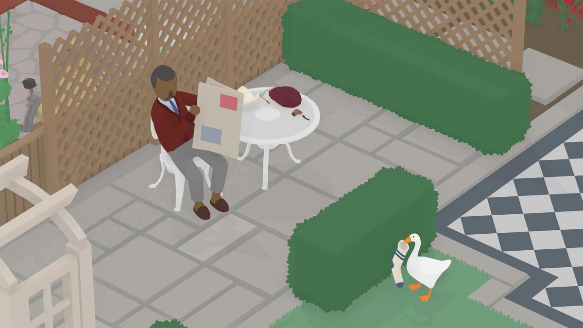 Симулятор гусака - інді-гра від студії Panic / epicgames.com