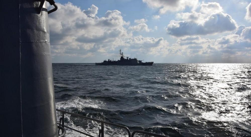 Корабли украинских и французских ВМС провели совместные учения типа PA